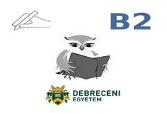 Gyakorló feladatok B2H Írásbeli DE Hallgatóknak